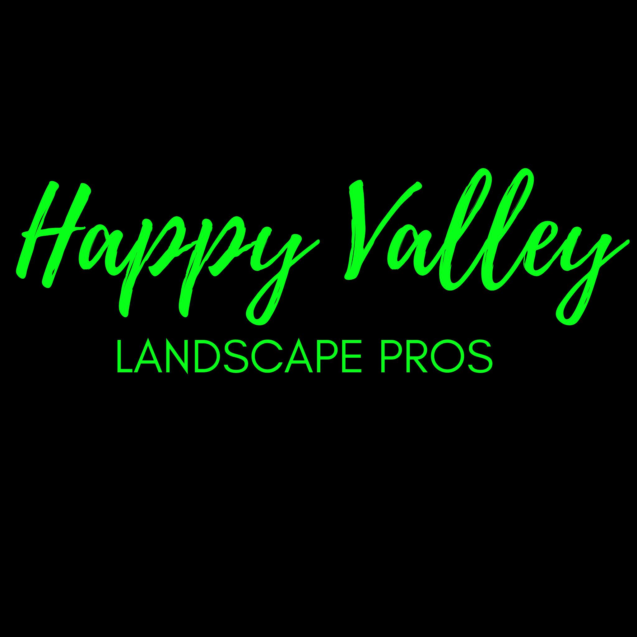 Happy Valley landscape pros logo
